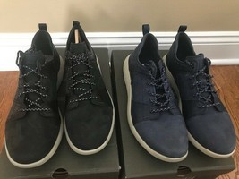 Timberland FlyRoam Men's Leather Shoes Black or Dark Blue - $112.99