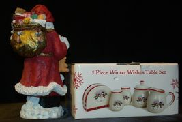 anta and 5 Piece Winter Wishes Table Set AA19-CD0052 Vintage image 9