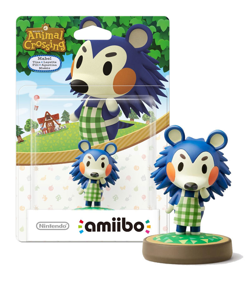 "Animal Crossing ""Mabel"" New Nintendo Amiibo * 3DS / Wii U / Switch Accessory"