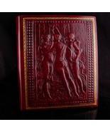 Vintage Three Graces album - genuine leather - greek nudes - peruzzi flo... - $265.00