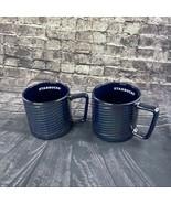 Starbucks Luster Swirl 12 oz ceramic Mug set fo 2 cups - $49.30