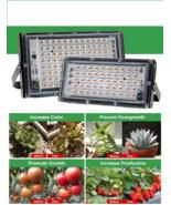 50W 100W Full Spectrum Plant Growing Light Hydroponics LED Aquarium Indo... - $10.34+