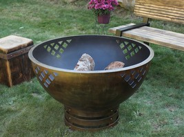 Cedar Creek Sculptures – Woven Thoughts Fire Pit – Rustic Elegance - $1,625.00+