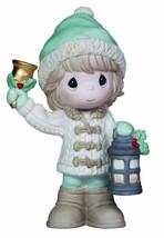 Precious Moments Porcelain Girl with Lantern Figurine Christmas Holiday ... - $12.15