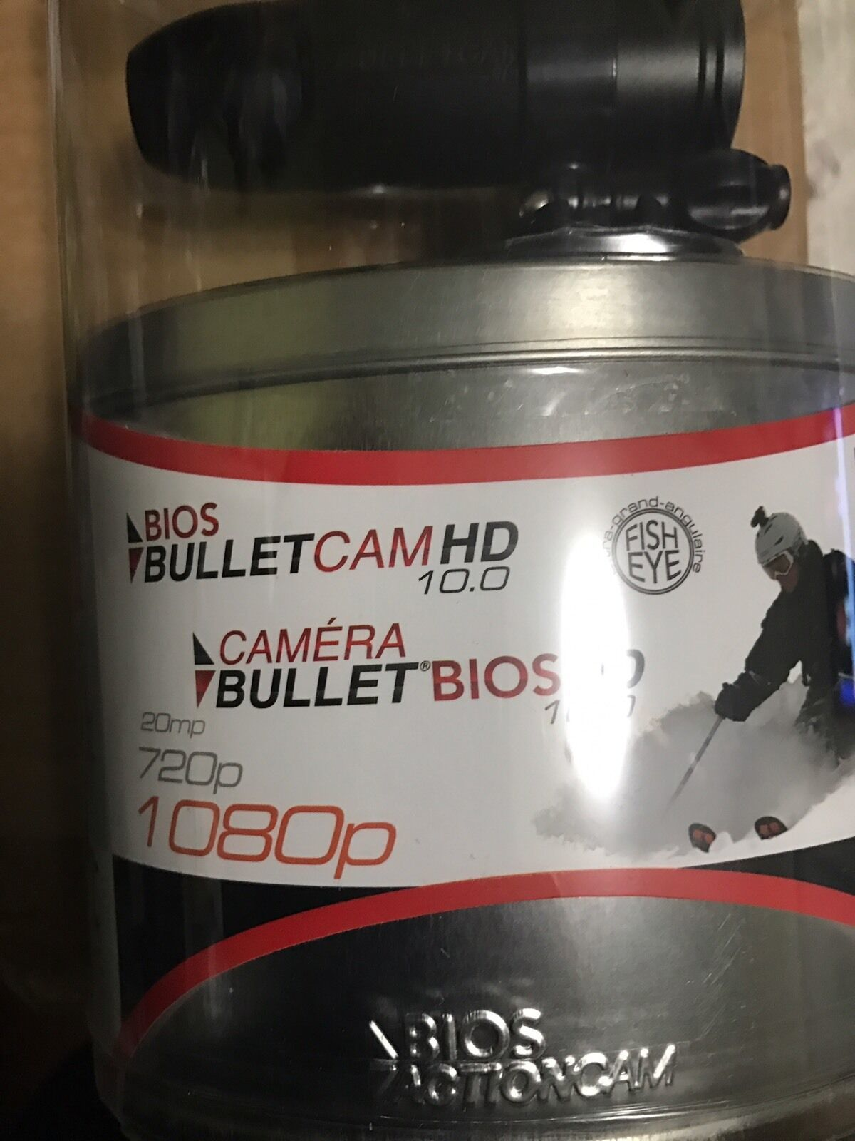 BULLET HD PRO1080P DIGITAL CAMERA OUTDOOR ACTION SPORTS WEARABLE 12.0 MEGAPIXEL