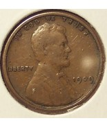 1909 VDB Lincoln Wheat Penny F15 FREE SHIPPING #132 - $13.59