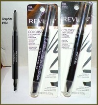 NEW & Factory Sealed Revlon Colorstay 2 in1 Angled Kajal Eyeliner~Graphi... - $7.95