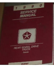 1990 DODGE DAKOTA TRUCK Service Repair Workshop Shop Manual OEM - $34.60