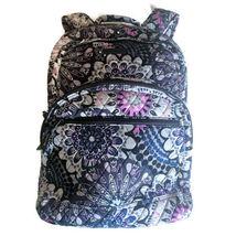 Vera Bradley Essential Large Backpack Laptop Bag ~ Mimosa Medallion Pattern NWT image 8