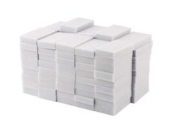 100PCS Cleaning Magic Sponge Eraser Melamine Cleaner Multi-functional Fo... - $6.45