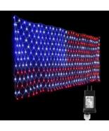 American Flag Super Bright Waterproof Led Flag Net Light of The United S... - $35.99