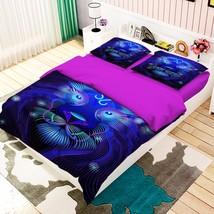 3D Leo Pattern 2 Bed Pillowcases Quilt Duvet Cover Set Single Queen King Size AU - $90.04+