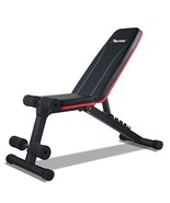 PASYOU Adjustable Weight Bench Full Body Workout Foldable Incline Decline Exerci - $169.21