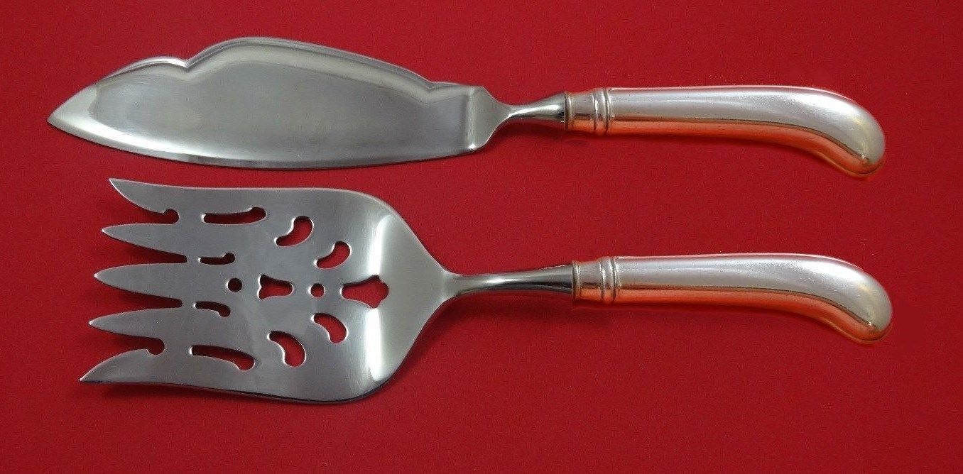 Awakening by Towle Sterling Silver Salad Serving Set 2pc HHWS  Custom Made
