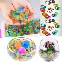 Water Aqua Crystal Beads Mixed Color Vase Filler Centerpiece for Wedding... - $7.28+