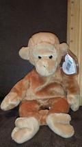 NEW Ty Beanie Baby Bongo The Monkey 1995 Rare PVC Pellets Retired MWMT - $4.99