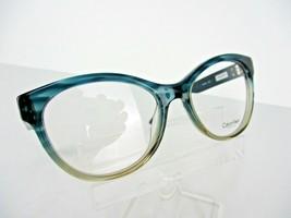 Calvin Klein CK 7986 (408) Teal/Taupe Horn 53 X 17 135 mm Eyeglass Frame - $65.41