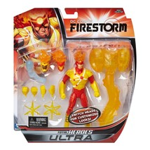 2014 Mattel DC Comics Total Heroes Ultra FIRESTORM Figure w/Two Changeab... - $18.80