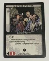 Battletech Support Politics TCG 1996 CCG Wizards of the Coast Trading Card CR - $3.95