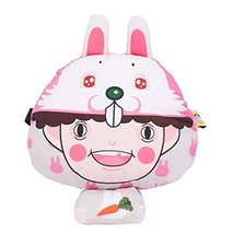 Neck Pillow Comfortable Cute Cartoon Car Pillow Auto Accessories Car Headrest