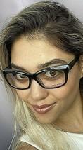 New ALAIN MIKLI A 09030 A0B1 53mm Gray Cats Eye Women's Eyeglasses Frame Italy - $189.99