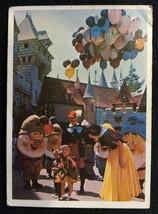 VISIT DISNEYLAND 1965 CARD #18 SNOW WHITE DWARFS DONRUSS RARE BLUE BACK ... - $12.99