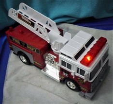 Tonka Rescue Force Lights and Sounds 12-inch Ladder Truck - Fire Dept 82 - $25.39