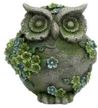7IN RESIN OWL DECOR - $79.19