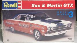 Revell Sox & Martin Plymouth GTX 1:25 Model - $37.71