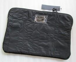 """Marc Jacobs 15"""" Laptop Sleeve Pretty Nylon Black New - $91.39"""