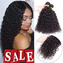 Brazilian Virgin Hair Kinky Curly Hair Bundles Virgin Brazilian Kinkys Curly Wea - $60.88