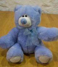 Animal Alley SOFT BLUE TEDDY BEAR Plush Stuffed Animal - $15.35