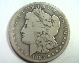 1885-CC MORGAN SILVER DOLLAR VERY GOOD VG NICE ORIGINAL COIN BOBS COIN F... - $645.00