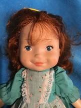 "Fisher Price Vintage 1981 Vinyl Cloth 16"" Original My Friend Mikey Doll #218 Red - $29.69"
