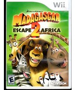 Madagascar: Escape 2 Africa Wii Game - $6.50