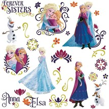 Roommates Rmk2652Scs Frozen Spring Peel And Stick Wall Decals,Anna W/ Cape - $18.99