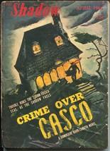 """Shadow 4/1946-Street & Smith-""""Crime Over Casco""""-hero pulp-VG - $93.12"""