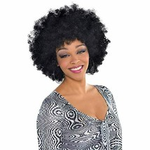 AMSCAN Oversized Afro Wig Halloween Costume Accessories, Black, One Size - $16.65