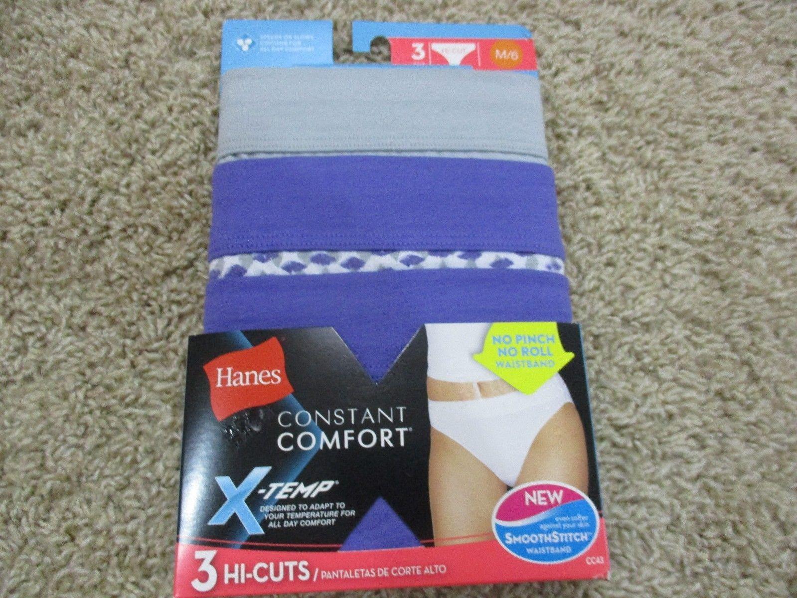 504281034e68 BNIP Hanes X-temp 3pk Hi Cut panties, women, and 50 similar items. S l1600