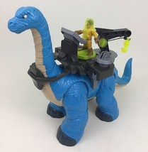 Imaginext Dinosaur Apatosaurus Toy Figure With Crane Tool Fisher Price 2010 - $26.68