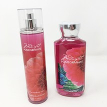 Bath & Body Works Midnight Pomegranate RETIRED SCENT Mist & Gel Set NEW - $22.33