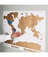 Scratch Off Map Poster - $36.00