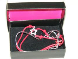 NIB (2011) AVON Christmas Tis The Season 3 Bracelet Set Red Adjustable C... - $9.99