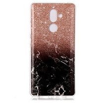 Nokia 7 plus Case,Gloryshop [Marble pattern Series] Slim Soft Flexible T... - $4.94