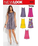 Simplicity Creative Patterns New Look 6125 Misses' Dress, A (10-12-14-16... - $11.27