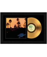 """""""Hotel California"""" by the Eagles  17 x 26 Framed 24kt Gold Album with Co... - $198.95"""