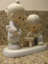 "PRECIOUS MOMENTS FIGURINE ..""THUMB - BODY LOVES YOU."" - $22.33"