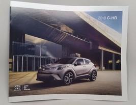 2018 Toyota C-HR Factory Brochure Xle Premium Xle Nice Car! - $6.38