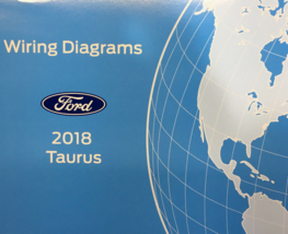 2018 Ford TAURUS Wiring Electrical Diagram Manual ETM EWD OEM EWD 2018 - $24.70