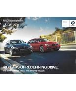2016 BMW 3-SERIES sales brochure catalog 16 US 328i 328d 340i xDrive sed... - $10.00